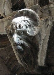 Mascheron campanile San Bortolo