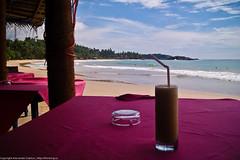 Сок на пляже