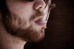 """""""The Exhale"""" (Mason Sklut) Tags: beard cigarette exhale cigarettesmoke"""