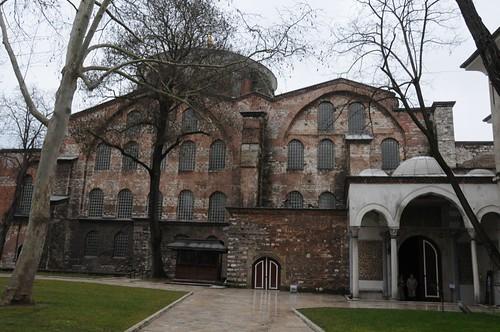 Exterior of Hagia Eirene