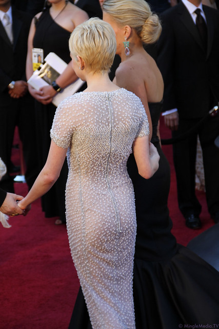 Michelle Williams at the 83rd Academy Awards Red Carpet IMG_1053 by MingleMediaTVNetwork