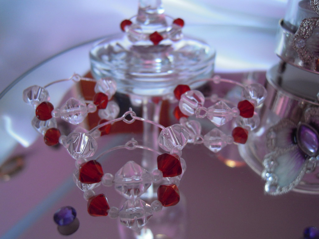 Wedding Wine Glass Charm Rings