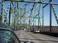 Interstate Bridge (kevin42135) Tags: bridge vancouver oregon river portland washington highway 5 columbia interstate draw