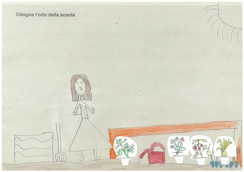 Disegna l'orto della scuola 2B 12