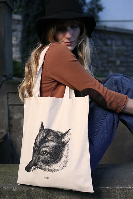 fox tote!