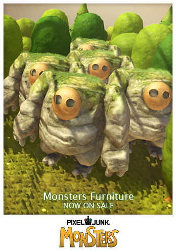 PlayStation Home: Poster monsters