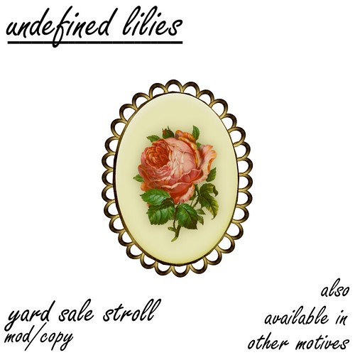 yard sale stroll - floral03