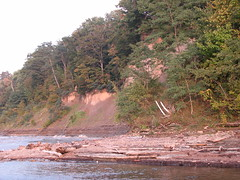Slumps east of 12-mile creek (Pete&NoeWoods) Tags: lakefront eriecounty 12milecreek 12milebeach slumps f09woo73