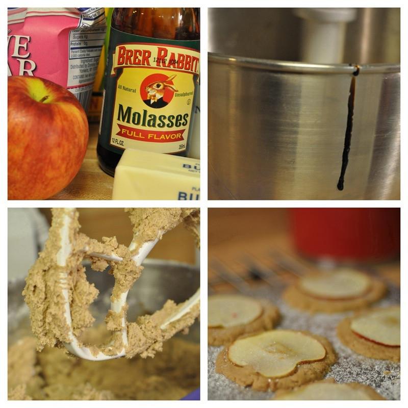 Mrs. Beans Nutmeg Ginger Apple Snaps