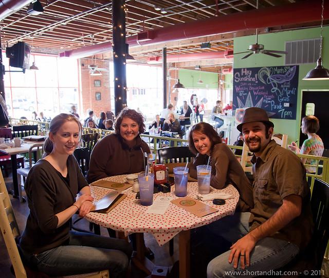 Kristen, Joanna, Carrie, & Seth