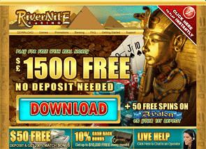 River Nile Casino Home