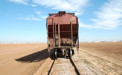 End of Train 20110217 South of Altus OK (rmccallay) Tags: agriculture endoftrain cottonfields eot altusoklahoma
