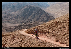 Amazing is around the corner (Ilan Shacham) Tags: mountains cycling israel am ride desert  outdoor redsea  adventure trail mtb geology wilderness epic eilat singletrack