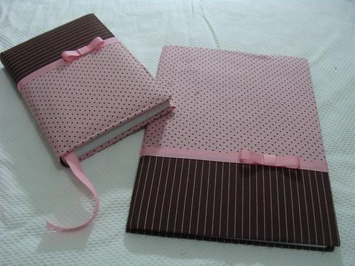 caderno e agenda by Artezanarte