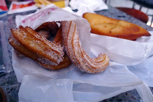 Churros@Cafe Latino