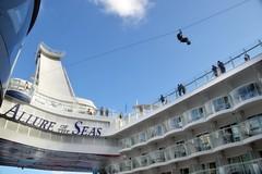 Allure of the Seas - Zip Line (blmiers2) Tags: cruise nikon ship cruiseship royalcaribbean zipline seas allureoftheseas d3100 allure1 cruisingalong blm18 blmiers2