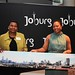 Lindiwe Kwele (right), chief executive of the Johannesburg Tourism Company, introduces Joburg at ITB Berlin with Charge d' Affaires of South Africa Cassandra Mbuyane-Mokone (left)