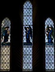 East Window in Vestry (IanAWood) Tags: london raw stainedglass 1877 williammorris putney allsaintschurch churchwindows churchofengland morrisco d3x walkingwithmynikon nikkorpce24f35 surreychurches