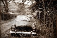 Humber Super Snipe - Olympus XA (stowupland) Tags: film shropshire ilford fp4 castlehill humber 125 supersnipe allstretton photoscape multigradepaperdeveloper