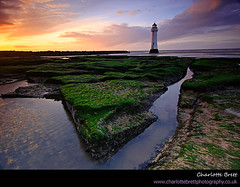 New Brighton (Charlotte Brett Photography) Tags: sunset lighthouse liverpool rocks wirral newbrighton merseyside perchrock