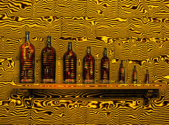 Criao com garrafas 5 (Valcir Siqueira) Tags: abstract art bottles digitalart bouteilles garrafas botellas