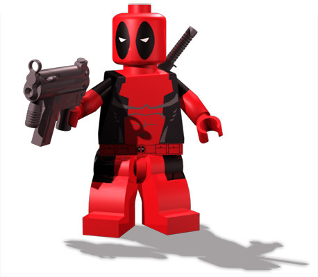 Custom minifig Deadpool