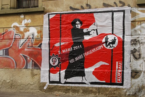 Frauendemo zum 8. März (internationaler Frauenkampftag)