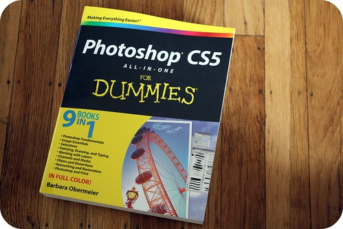 Birthday present: Photoshop CS5 for Dummies