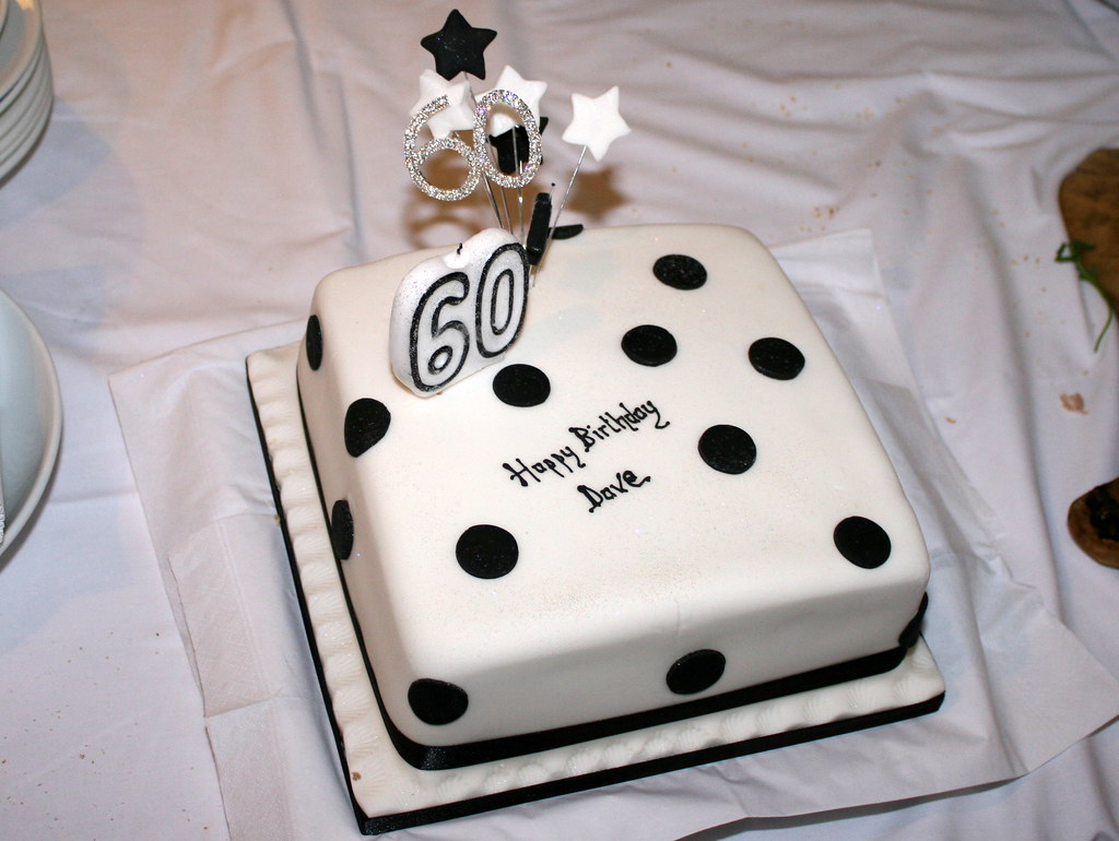 Birthday Cake Design 60 Years Old : The World s Best Photos of 60th and birthdaycake - Flickr ...