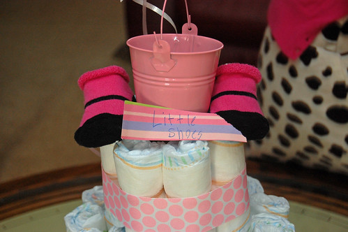 Diaper Cake - Little Shoes
