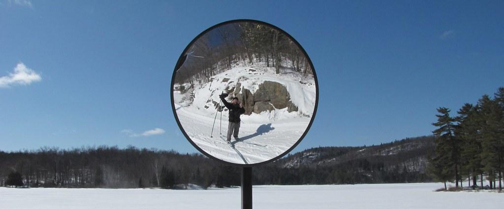 Approaching Taylor Yurt