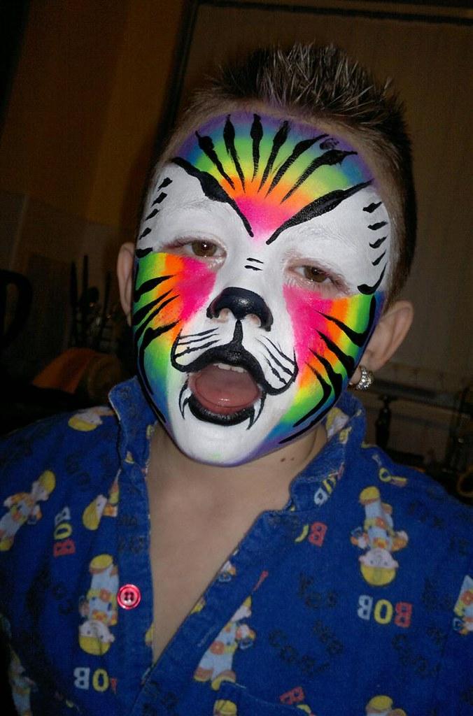 Rainbow Cake Face Paint Uk