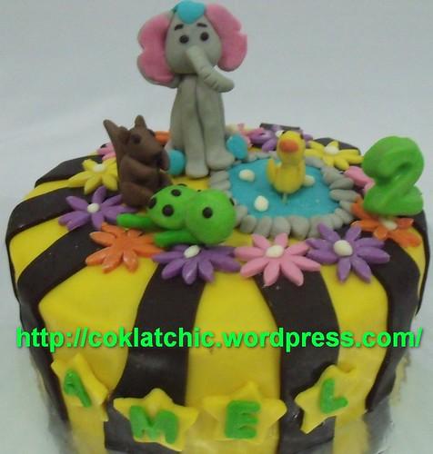 Kue dengan tema gajah – AMEL