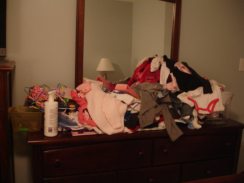 Laundry Pile Dresser