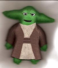 Felt Yoda