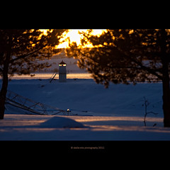 point of view (stella-mia) Tags: sunset sun lighthouse norway evening pov pointofview hamar eveninglight 70200mm hightlight canon5dmkii