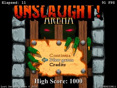 Onslaught! Arena on iPad