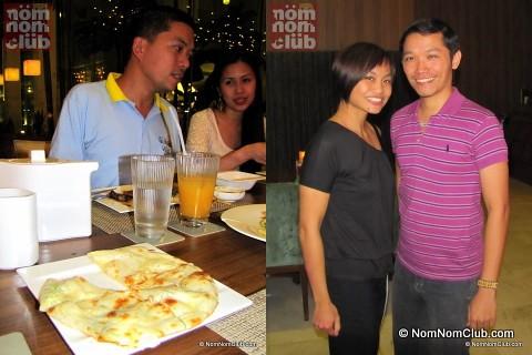 Lori Baltazar & NomNom (right); Jane Chua & Ivan Man Dy (left)