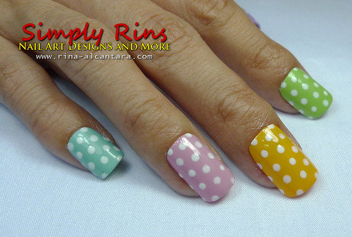 Nail Art Polka Dots For Beginners 03