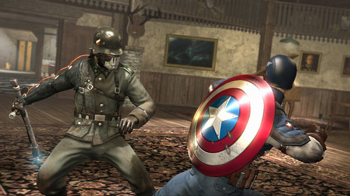 Captain America Wii Screens