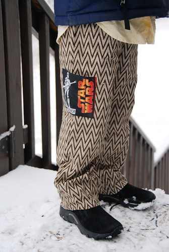 star wars pants...