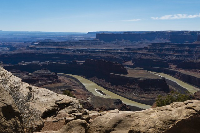 Famous View of the Colorado River from Dead Horse Point