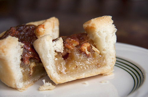 Pecan Tart Cross Section