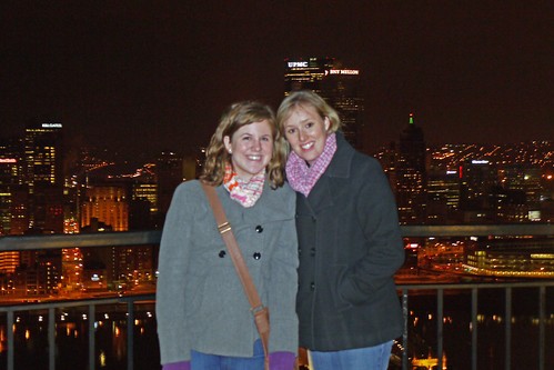 Pittsburgh Skyline - Allie and Kailin