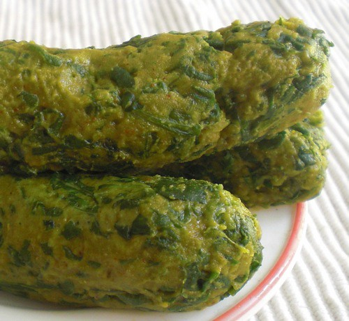 Healthy Steamed Spinach Snack