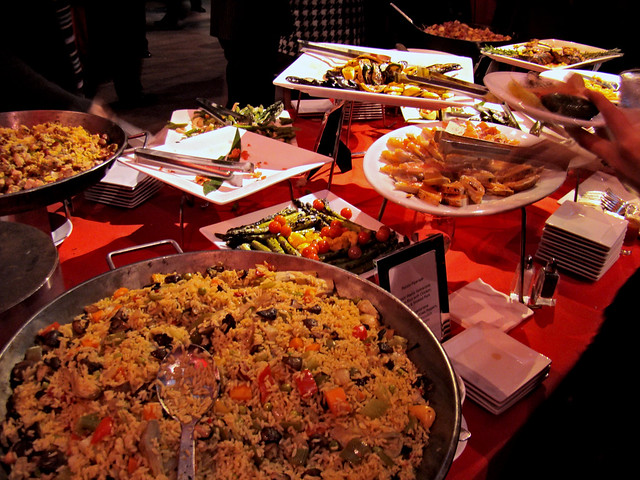 DSC05631 Galla paella display