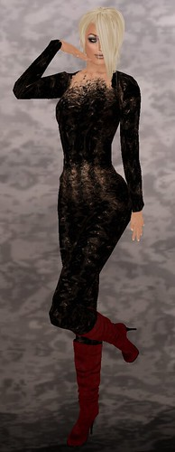 Nafta jumpsuit (freebie) + KLETVA-CIB Hair/Swedish Blonde
