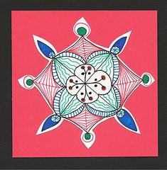 Doodled Card Front