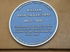 Photo of William Nash Skillicorne blue plaque