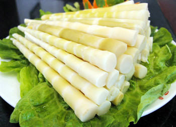 bamboo shoots fresh
